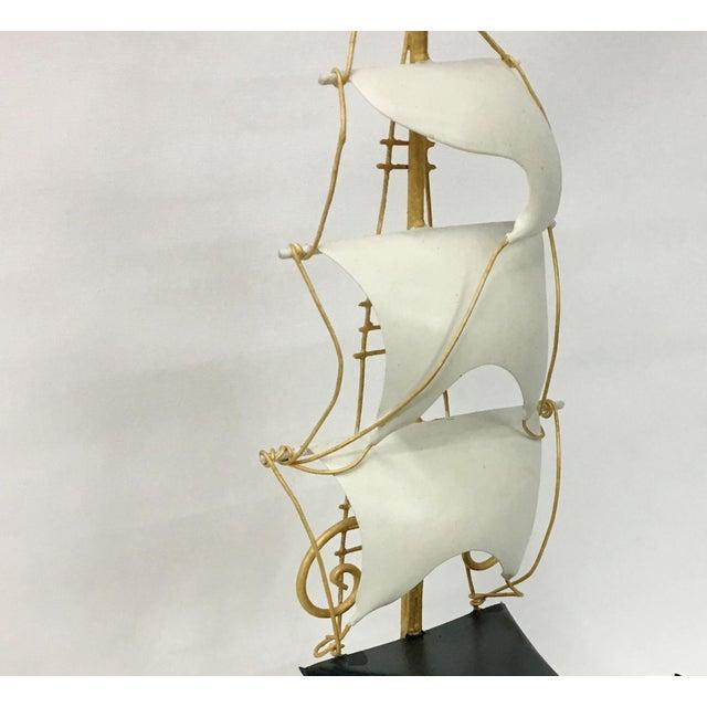 1970s Vintage Nautical Ship Wall Sconce Lighting For Sale - Image 5 of 8
