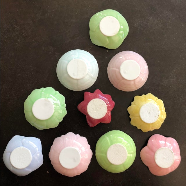 This is a set of ten (10) small plates. Each is a 2-inch Aritaware plate, perfect for entertaining. Each of these small...