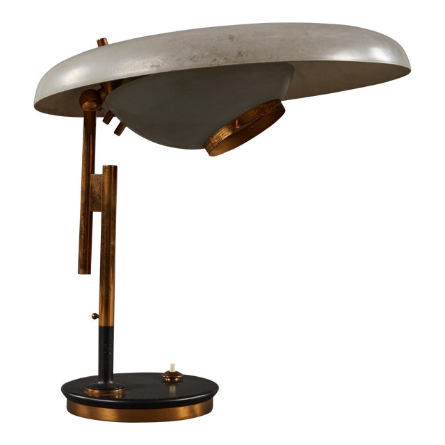 Adjustable Oscar Torlasco Table Lamp for Lumi For Sale
