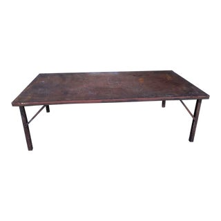 1950s Rustic Dining Table. For Sale