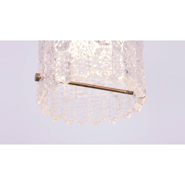 Carl Fagerlund Glass Pendant Light by Carl Fagerlund for Orrefors For Sale - Image 4 of 9