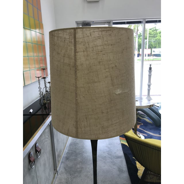 Stewart Ross James for Hansen Bronze Floor Lamp For Sale In Miami - Image 6 of 8