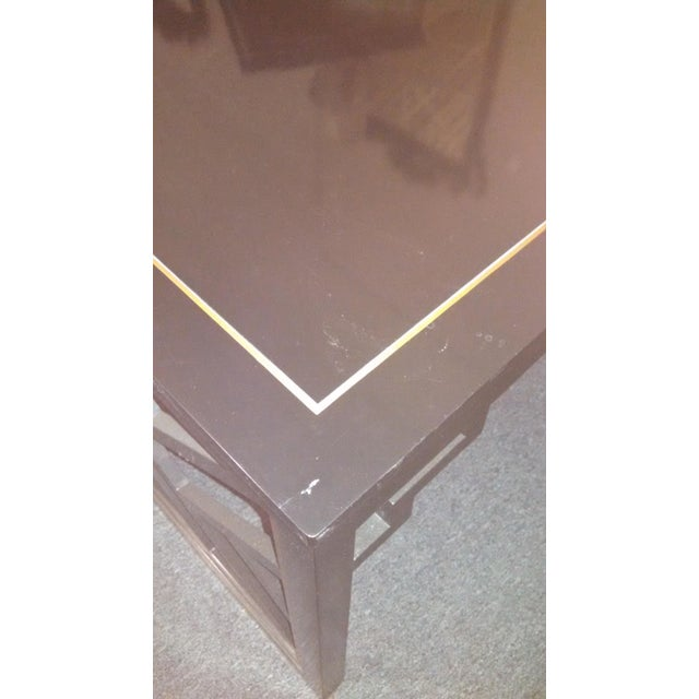 Dorothy Draper Kindel Square Trellis Lamp Table For Sale - Image 10 of 10