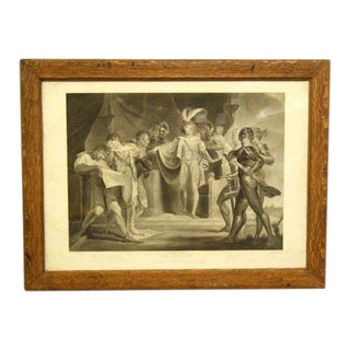 Shakespeare Framed Print of King Henry the Fifth For Sale