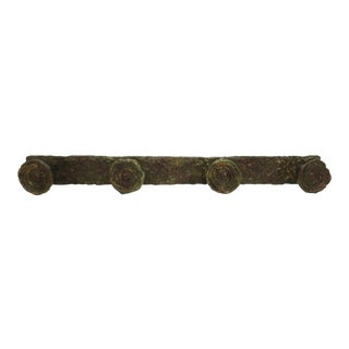 Modern Bronze Coat Hanger in Giacometti Style For Sale
