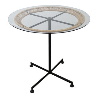 Boho Chic Bistro Table by Arthur Umanoff For Sale