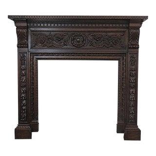 Italian Renaissance Style Mantel