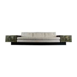 Adrian Pearsall Craft Associates Brutalist Sofa For Sale