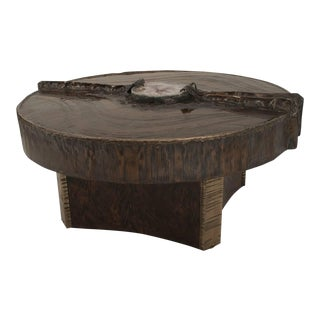 Belgian Postwar Design Sculptural Coffee Table, by Marc d'Haenens For Sale