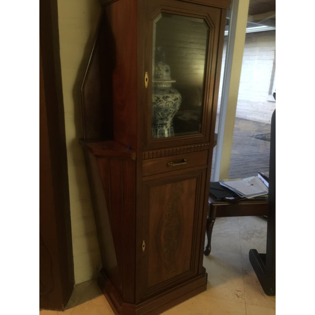 Wood Vitrine Wooden Showcase For Sale - Image 7 of 11