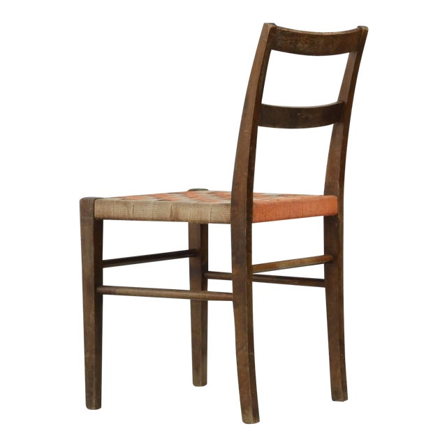 Axel Larsson Webbed Chair for SMF Bodafors, Sweden, 1929 For Sale