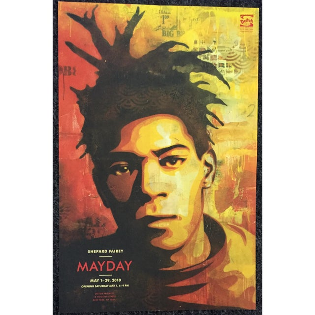 Shepard Fairey Basquiat Exhibition Poster - Image 3 of 3