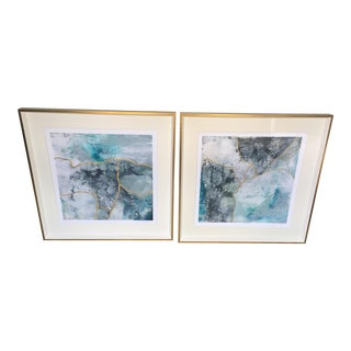 Sea Lace Limited Edition Giclee Artwork - a Pair For Sale