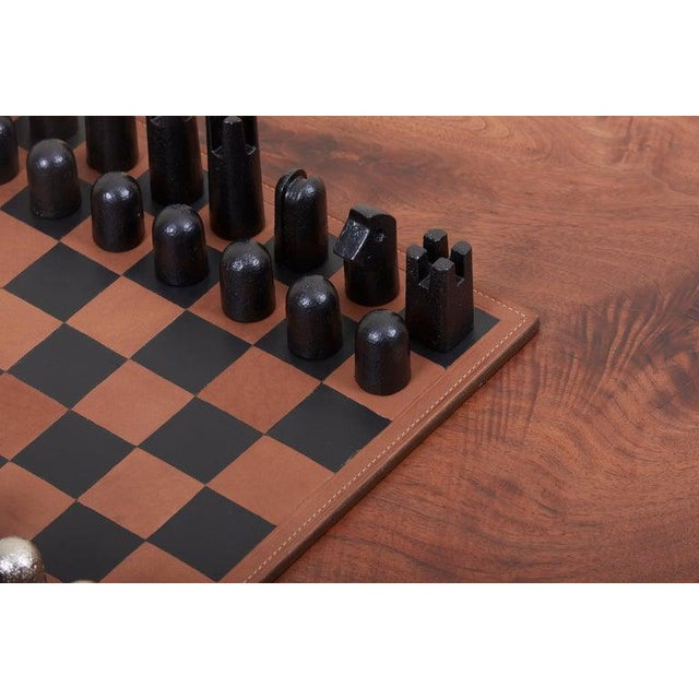 2010s Modernist Chess Set #5606 by Carl Auböck For Sale - Image 5 of 11