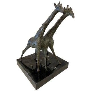 Don Wilks Bronze Giraffes For Sale