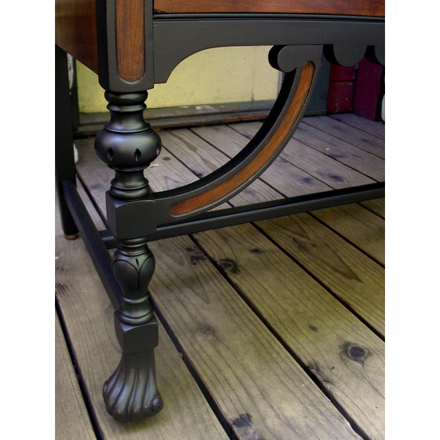 Gothic Jacobean Mahogany Dresser - Image 8 of 11