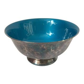 Vintage Blue Enamel Revere Bowl