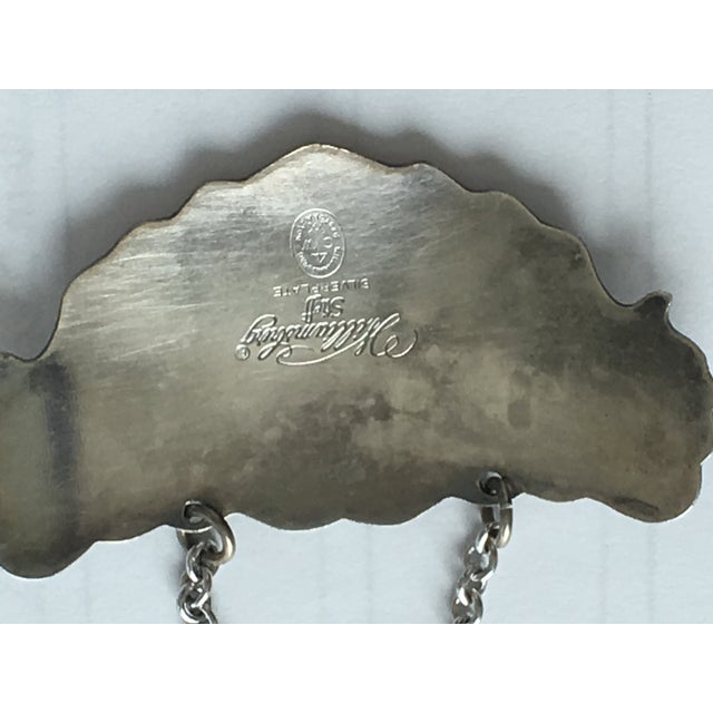 Group of Four Silverplate Liquor Bottle Tags - Steiff For Sale In West Palm - Image 6 of 10