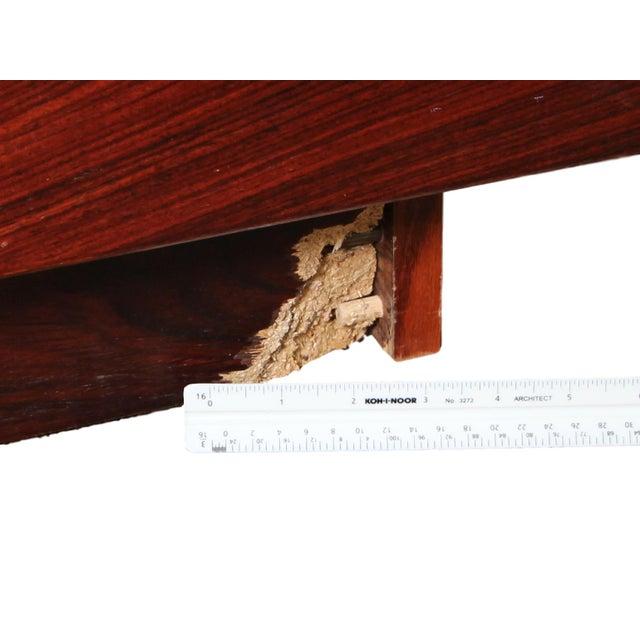 Danish Rosewood King Size Platform Bed For Sale In Atlanta - Image 6 of 11