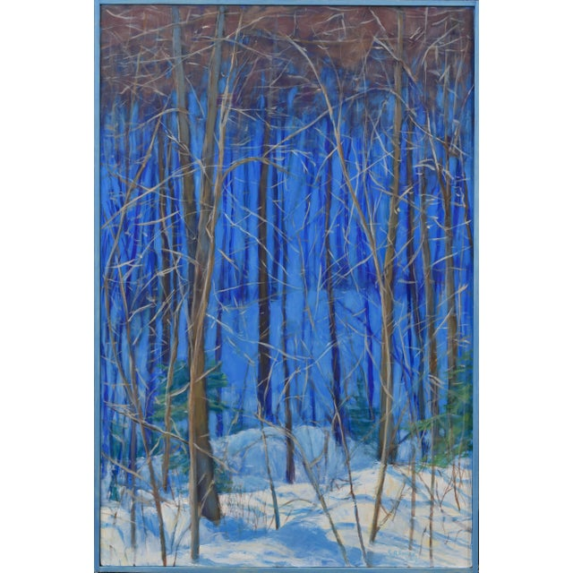 "Stephen Remick Contemporary Painting ""Up and Into the Mountains of Vermont"" For Sale - Image 13 of 13"