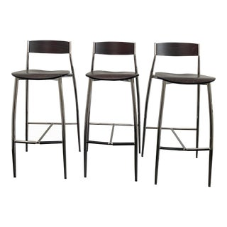 Design Within Reach Baba Bar Stools - Set of 3 For Sale