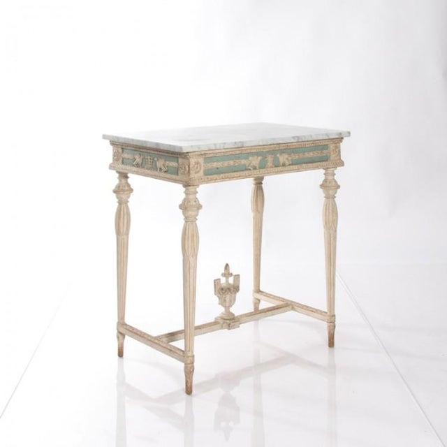 Mid-Century Modern Early 19th Century Swedish Empire Console For Sale - Image 3 of 10
