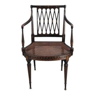 Regency Style Armchair For Sale
