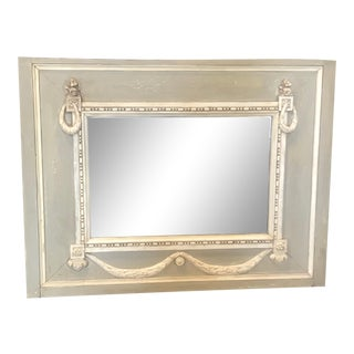 Swedish Gustavian Trumeau Mirror For Sale