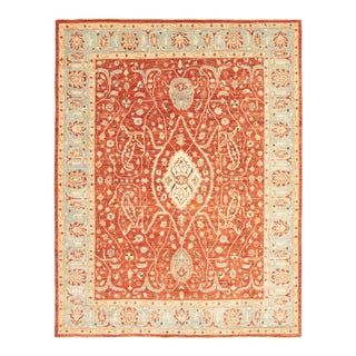 """Classic Hand-Knotted Rug, 8'11"""" X 11'9"""" For Sale"""