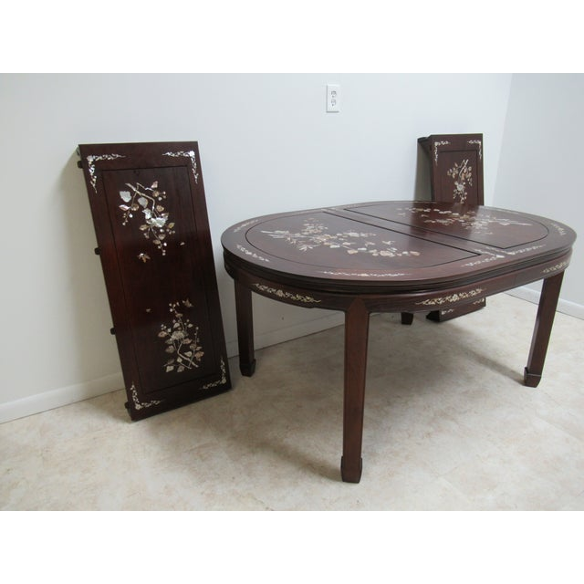 see matching chairs in our store.. Measurements ( L x W x H)60 x 44 x 30. 2 leaves each measures 18 inches wide. Great...