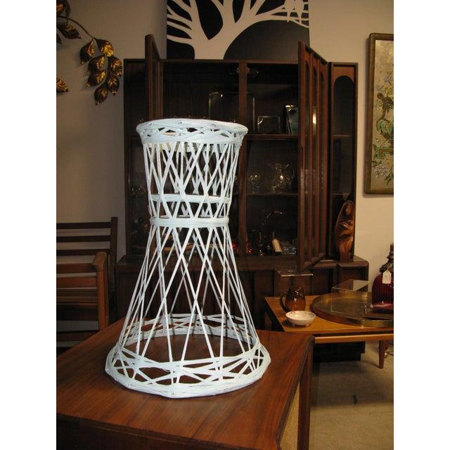 Plastic Mid Century Modern Fiberglass Russell Woodard Plant Stand For Sale - Image 7 of 8