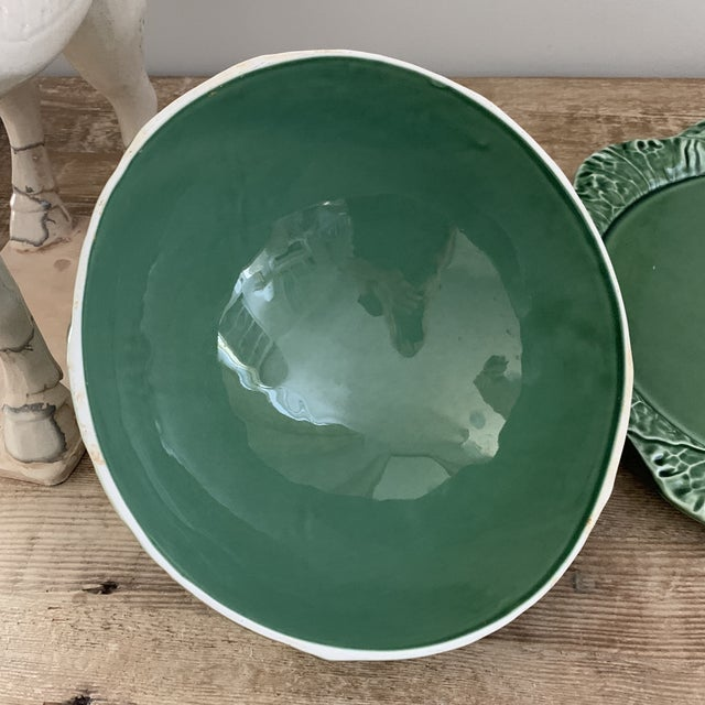 Bordallo Pinheiro Domed Cheese Platter For Sale In New York - Image 6 of 8