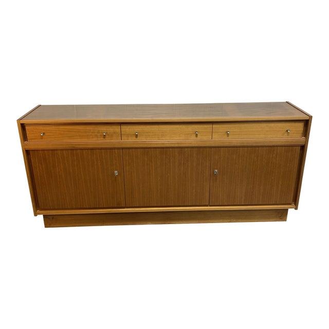 1960s Diekwisch German Veneer Sideboard For Sale