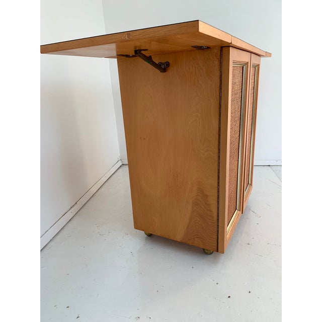1960s Vintage Mid Century Bar Cart For Sale - Image 9 of 13