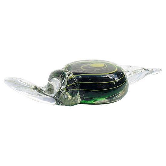 Murano Italian Swirl Candy Paperweight - Image 3 of 4