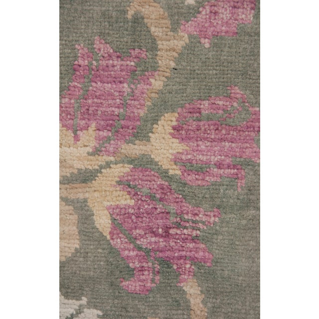 """Traditional Oushak, Hand Knotted Area Rug - 8' X 10'4"""" For Sale - Image 3 of 3"""