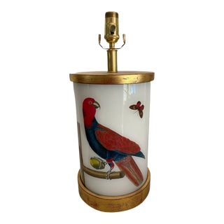 Parrot on Perch Table Lamp For Sale