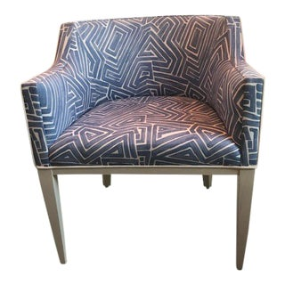 Vanguard Upholstered Hostess Chair For Sale