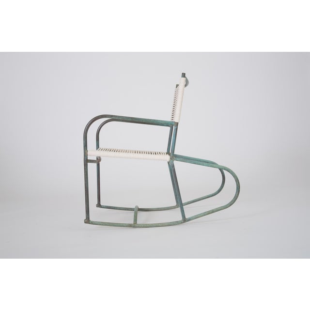 Walter Lamb Early Model Walter Lamb Patio Rocking Chair For Sale - Image 4 of 11