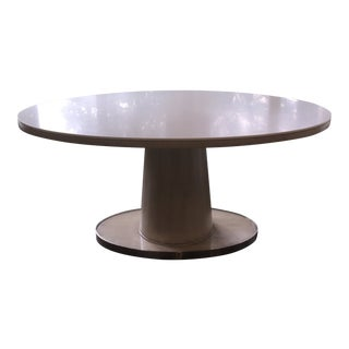 Barbara Barry Classic Oval Pedestal Table For Sale