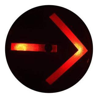 Traffic Signal Light Wall Sconce For Sale