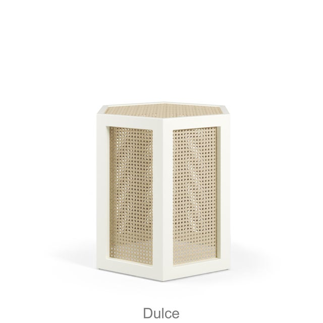 Contemporary Dulce Stool - Bull's Eye Red For Sale - Image 3 of 5
