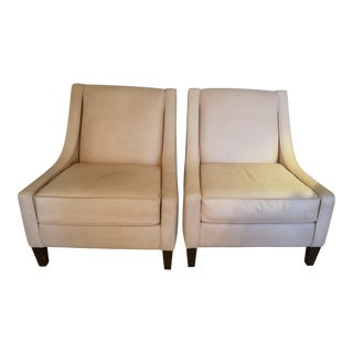 Robb & Stucky Leather Chairs - a Pair For Sale