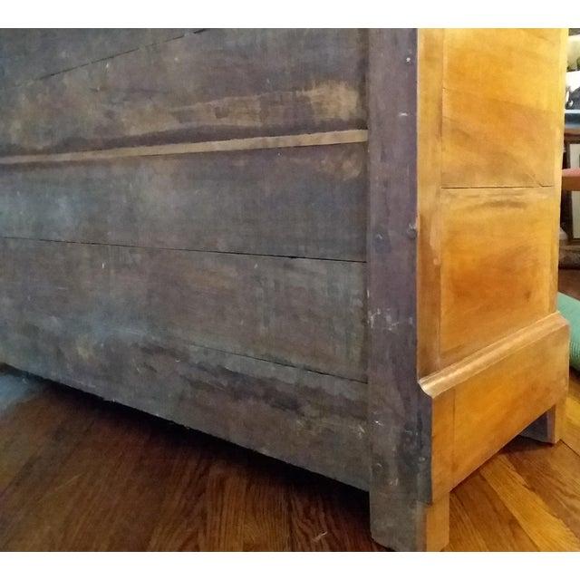 Antique Beidermeier Fruitwood Bureau For Sale - Image 4 of 13