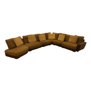 Huge Roche Bobois Beach Bay Modular Sofa For Sale