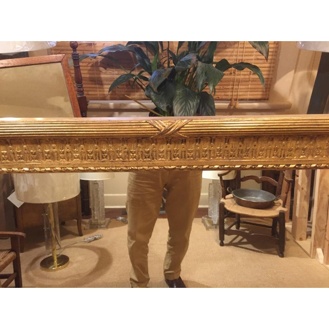 19th Century French Gold Gilt Mirror For Sale - Image 11 of 12
