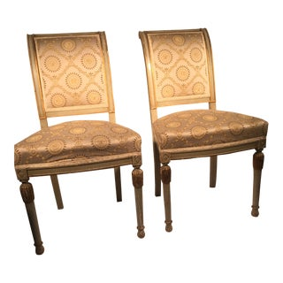 French Directoire Side Chairs - A Pair