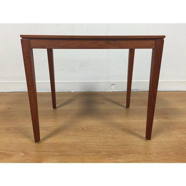 Silberg Mid-Century Danish Teak Side Table - Image 3 of 8