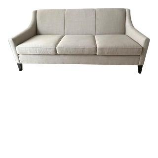 Mitchell Gold + Bob Williams Flax Linen Cara Sofa For Sale