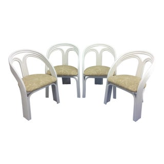 Mid Century Modern Rattan Chairs For Sale